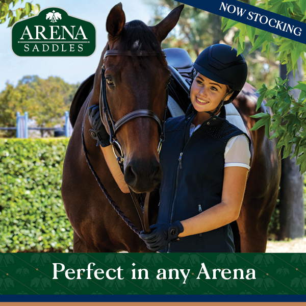 Now stocking Arena Saddles
