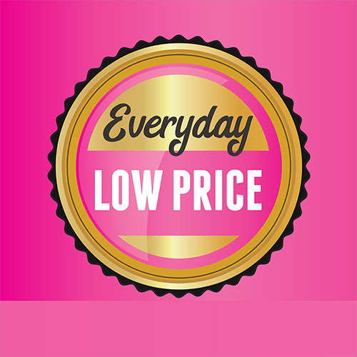 You love, we love -Everybody loves an Everyday Low Price!