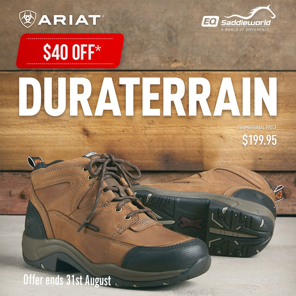 July offers from Ariat