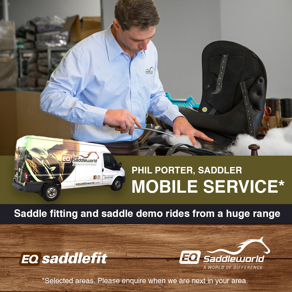 Saddle fitting with Phil Porter