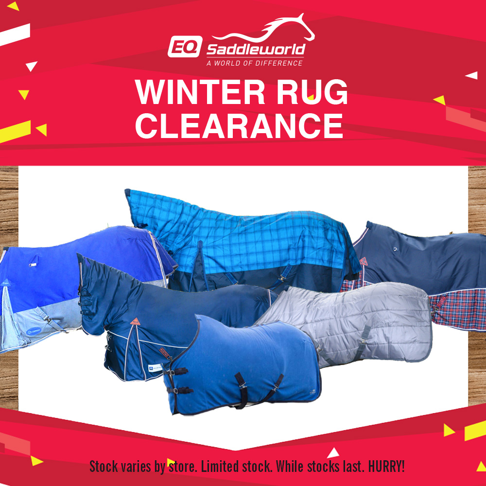 Winter Rug Clearance on now